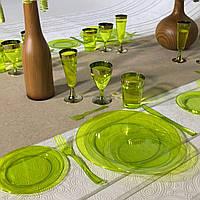 Тарелки одноразовые многоразового использования,  оптом для ресторанов,кейтеринга,кенди бара  CFP 6 шт 155 мм, фото 1