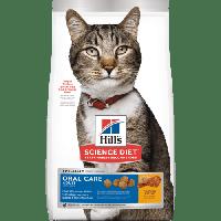 Hill's Science Plan Feline Adult Oral Care Chicken корм для кошек для профилактики зубного налета, 7 кг, фото 1