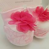 Пинетки для новорожденных, носочки топики, фото 3
