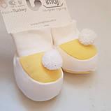 Пинетки для новорожденных, носочки топики, фото 4