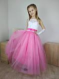 Детское бальное платье в пол, фото 2