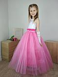Детское бальное платье в пол, фото 3