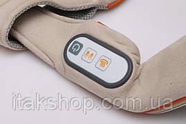 Массажер для шеи и шейного отдела позвоночника Zenet ZET-758 роликовый с прогревом, фото 3