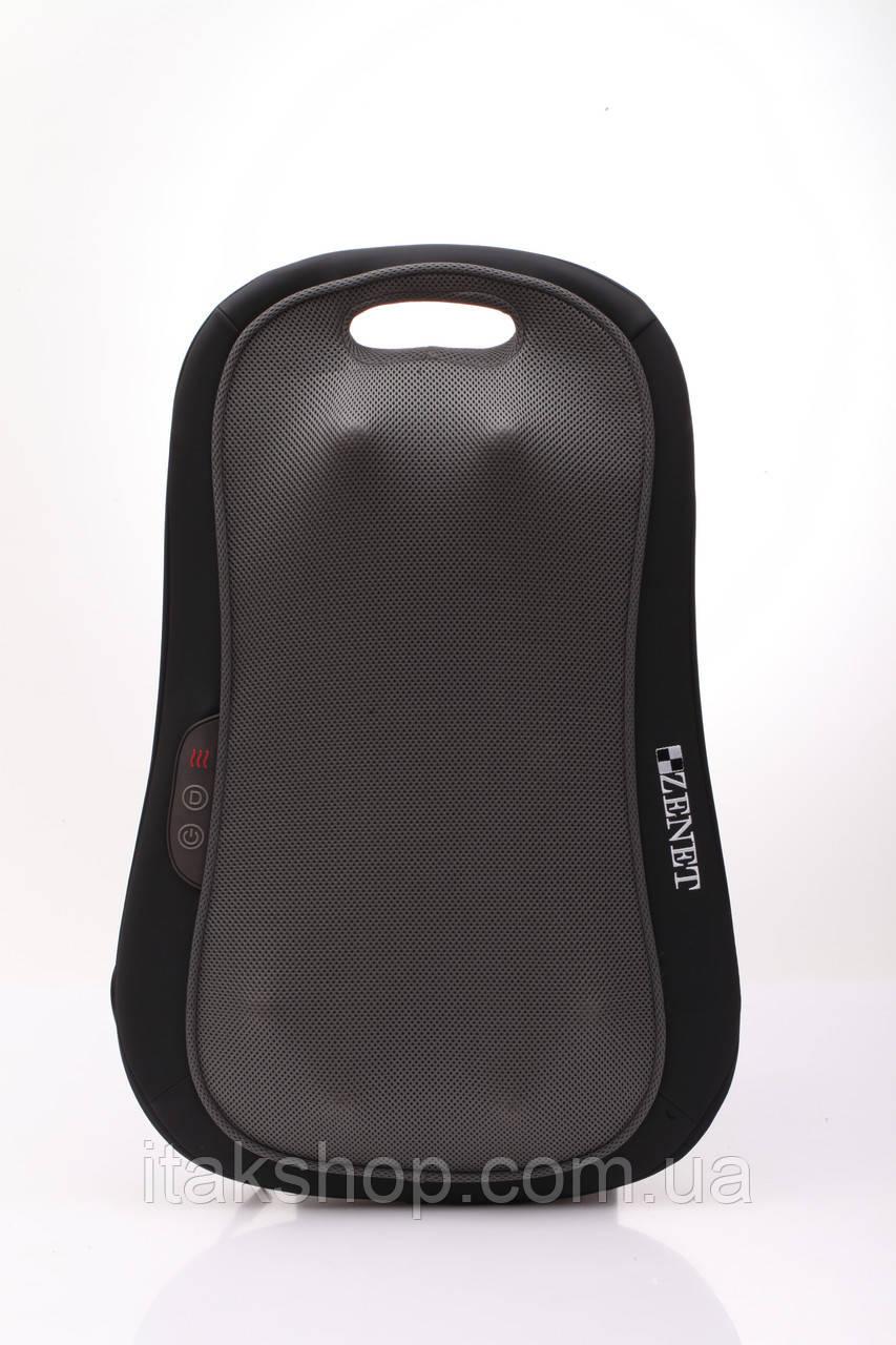 Массажная подушка для спины Zenet ZET-827 с прогревом