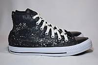 Высокие кеды кроссовки Converse Chuck Taylor All Star Hi с пайетками. Оригинал. 38-39 р./25 см.
