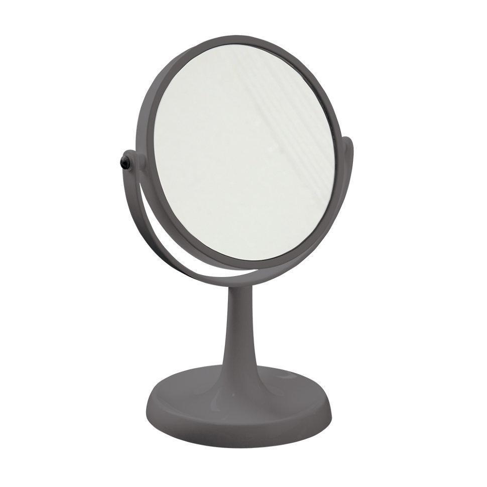 Trento Зеркало круглое настольное серое (Италия)