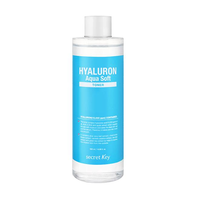 Гиалуроновый тонер для лица Secret Key Hyaluron Soft Toner 500ml