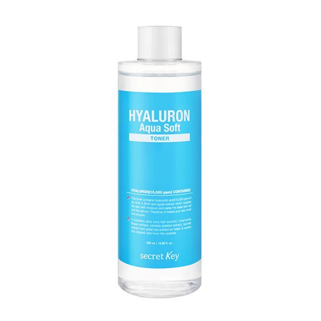 Secret Key Гіалуронова Тонік Hyaluron Soft Toner 500ml