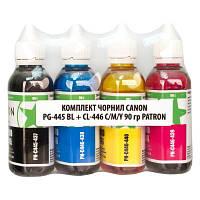Чернила PATRON CANON PG-445 BL + CL-446 C/M/Y (CPG445-090-MP)