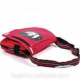 Молодіжна сумка через плече Che червона, фото 2