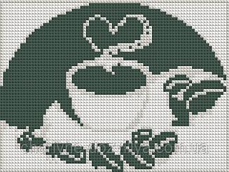 """Набор алмазной вышивки (мозаики) """"Кофейные зерна"""""""