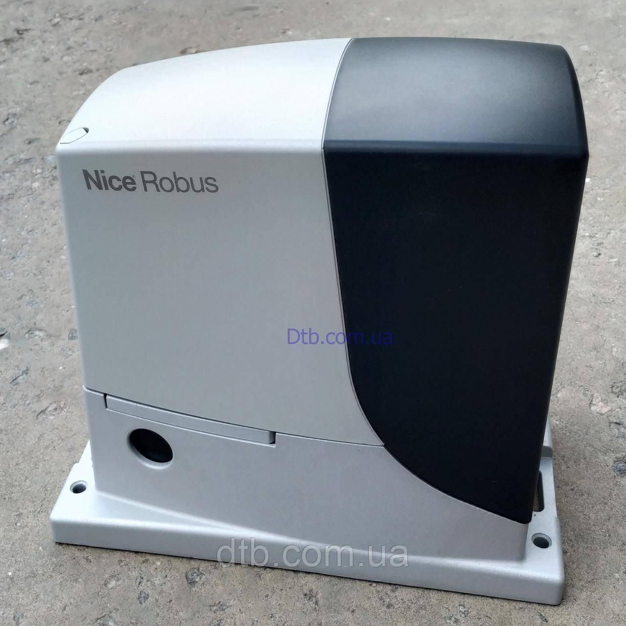 Nice RB 600 автоматика для откатных ворот Robus 600 привод на створку до 600 кг