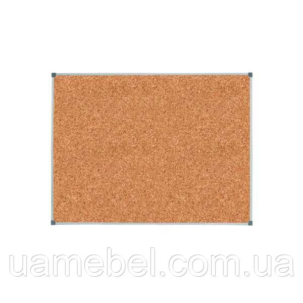 Пробковая доска КЛАССИК 100х70 см цветная