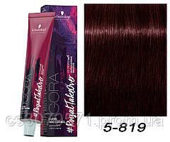 5-819 Краска для волос Schwarzkopf Prof Igora Royal Nocturnes - Светлый коричневый красный сандрэ фиолетовый
