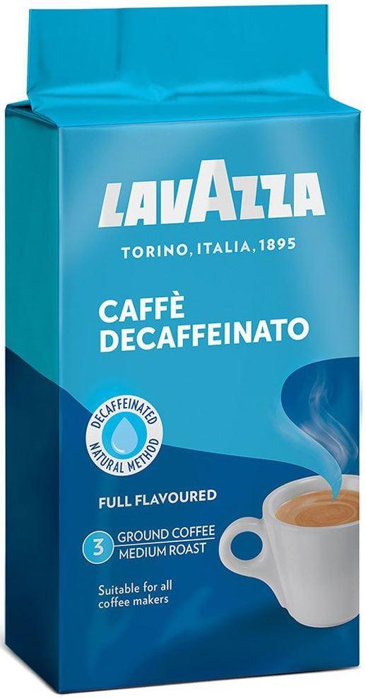 Молотый кофе без кофеина Lavazza Dek 250г