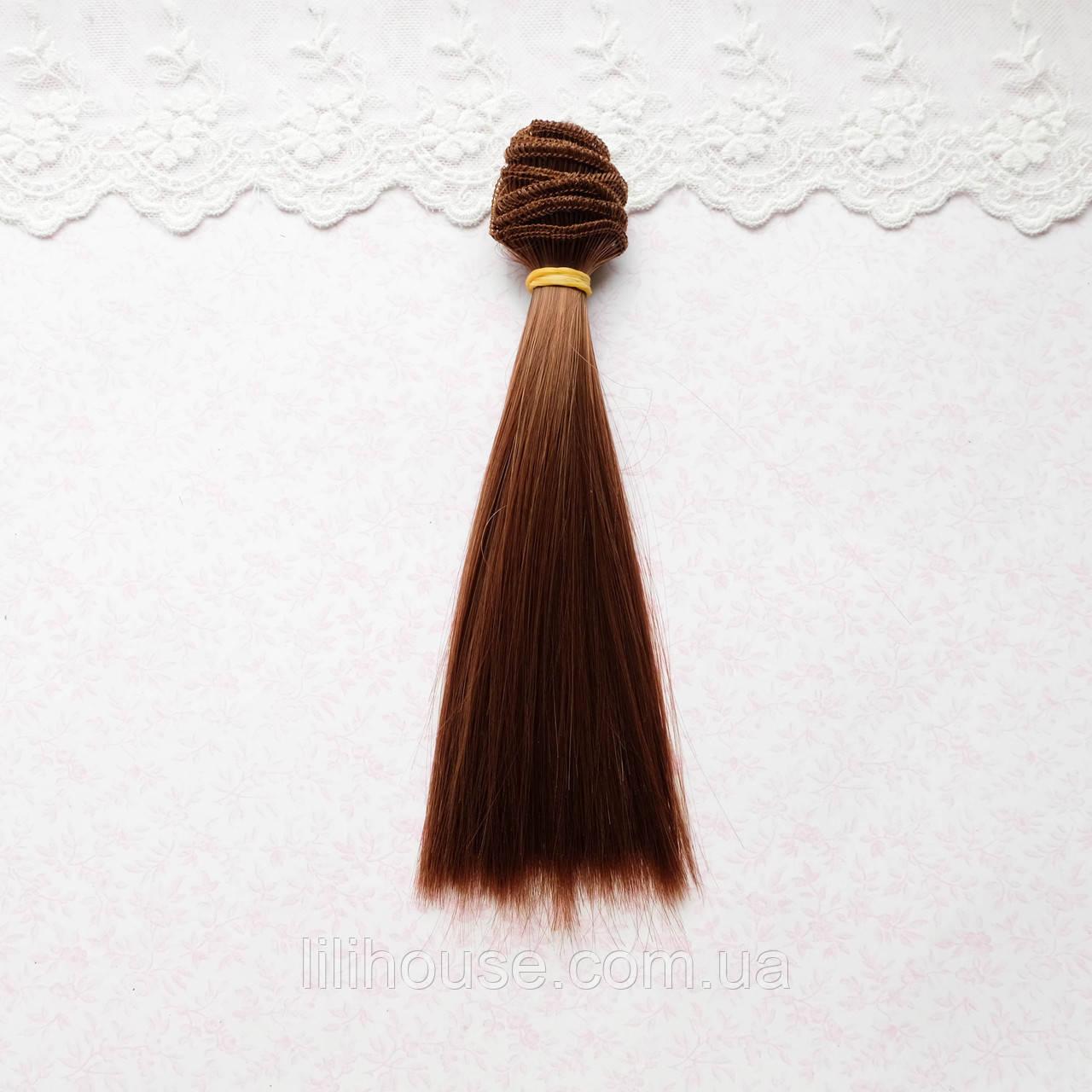 Волосы для Кукол Трессы ШАНГРИЛА Шелк 25 см