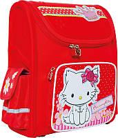Ранец рюкзак школьный 1 Вересня 551518 Чарммикитти красный