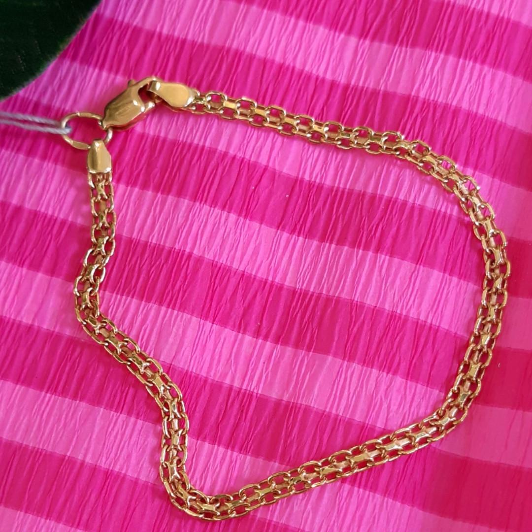 Золотой браслет Бисмарк форсе - Браслет на руку из золота 585 пробы