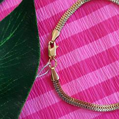 Золотой браслет на руку - Браслет из красно-белого золота 585 пробы