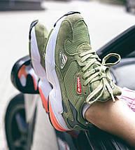 Женские кроссовки Adidas Falcon Army Green, фото 3