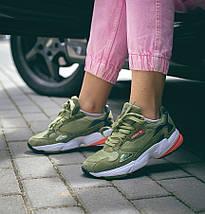 Женские кроссовки Adidas Falcon Army Green, фото 2
