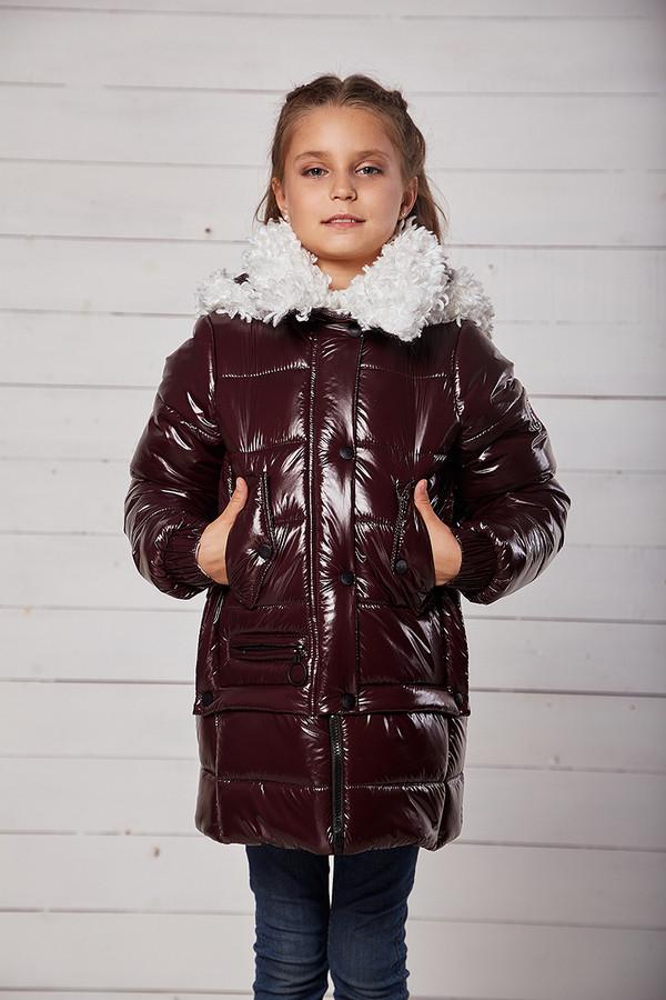 Куртка «Мила», шоколад, рост 134 - 158