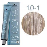 10-1 Краска для волос Schwarzkopf Professional Igora Royal Highlifts - Ультра блонд сандре - 60мл