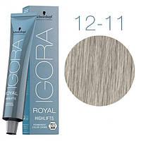 12-11 Краска для волос Schwarzkopf Professional Igora Royal Highlifts - Специальный блондин экстра сандре 60мл