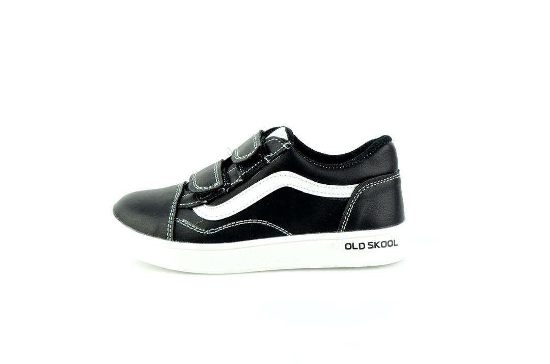 Кросівки дитячі SAV 118 Липучка 555843 Black White