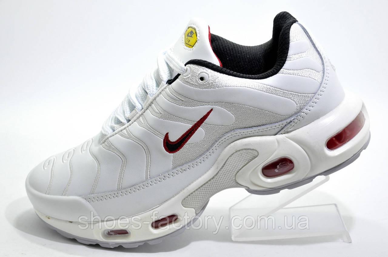 Женские кроссовки в стиле Nike Air Max Plus TN, White\Red