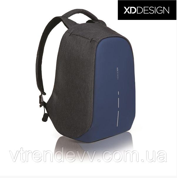 "Рюкзак протикрадій міської XD Design Bobby Compact 14"" Diver Original Blue Синій"