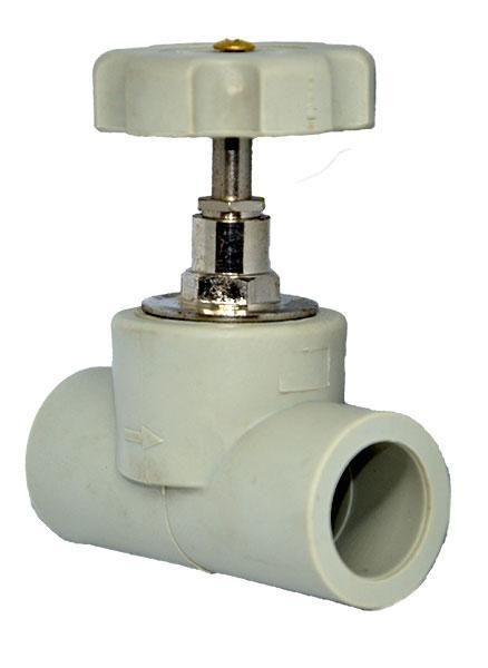 Прямоточный вентиль для полипропиленовых систем отопления