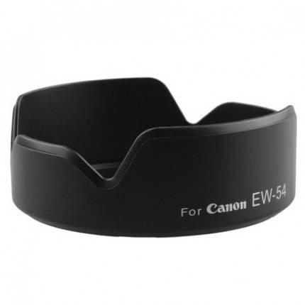 Бленда EW-54 для объктива Canon EOS M EF-M 18-55mm F3,5-5,6 IS STM, фото 2