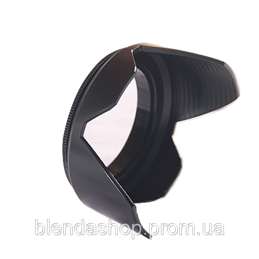 Лепестковая бленда 55 мм - универсальная