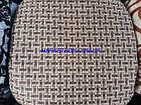 Чехлы на табуретки комплект 4 шт на резинке (сидушка на табурет, стул) №23