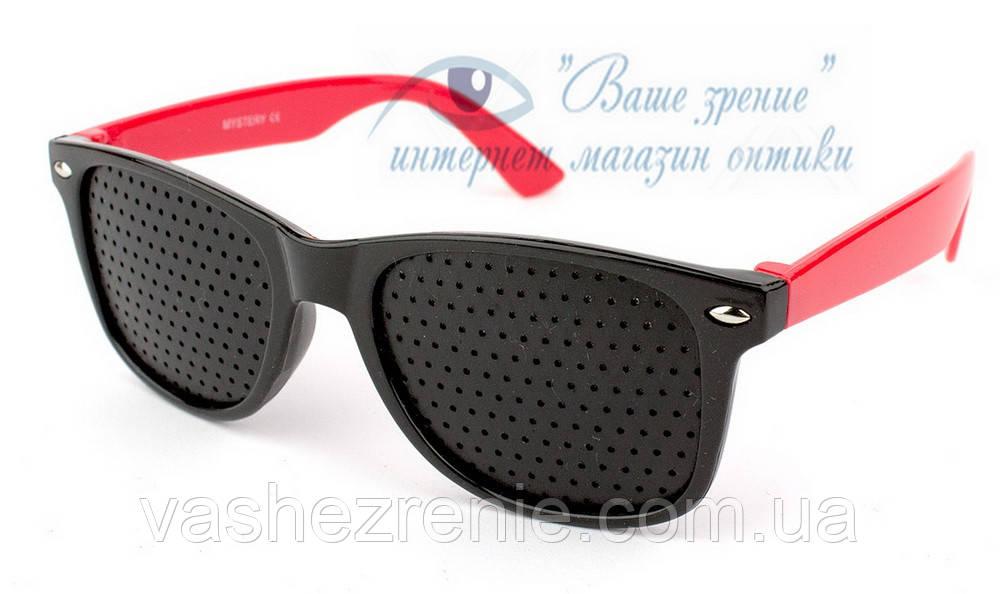 Очки детские тренажёры, перфорационные Код:5603