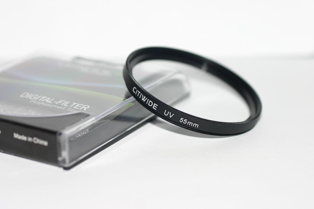 Ультрафиолетовый защитный UV cветофильтр CITIWIDE 55 мм