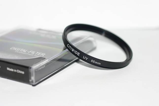 Ультрафиолетовый защитный UV cветофильтр CITIWIDE 55 мм, фото 2