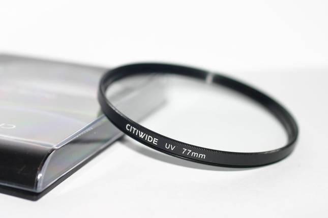 Ультрафиолетовый защитный cветофильтр CITIWIDE UV 77 мм, фото 2