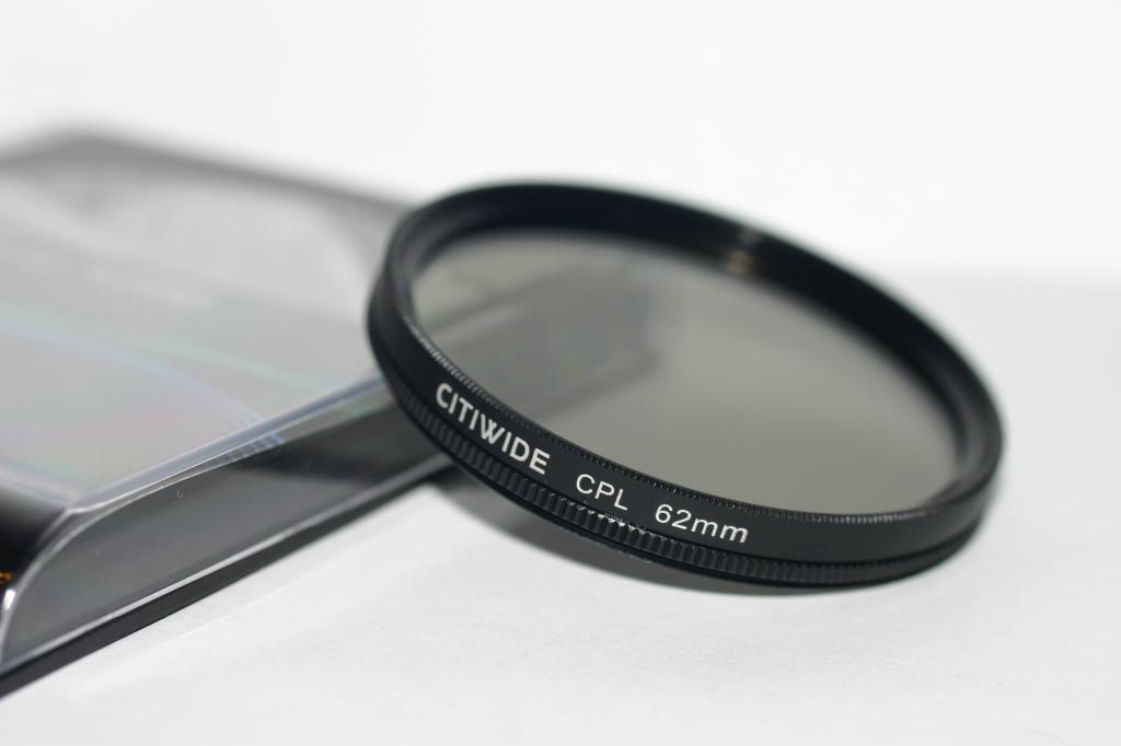 Поляризационный cветофильтр CITIWIDE CPL 62 мм