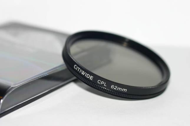 Поляризационный cветофильтр CITIWIDE CPL 62 мм , фото 2