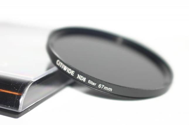 Нейтрально-серый светофильтр CITIWIDE 67 мм ND8, фото 2