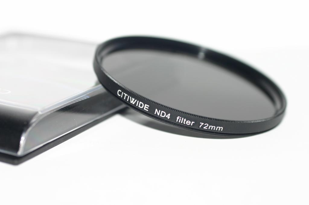 Нейтрально-серый светофильтр CITIWIDE 72 мм ND8