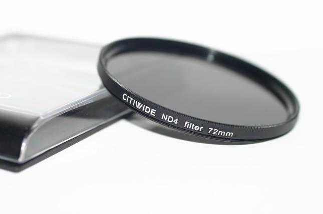 Нейтрально-серый светофильтр CITIWIDE 72 мм ND8, фото 2