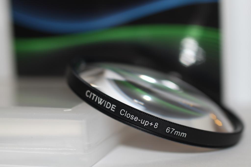 """Светофильтр - макролинза CLOSE UP +8 67mm """"CITIWIDE"""""""