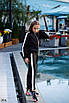 Костюм спорт для девочкилампас итал костюм 134,140,146,152, фото 7