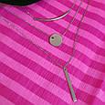 Тройное серебряное родированное колье - Колье минимализм серебро 925 пробы - Многослойное колье, фото 4