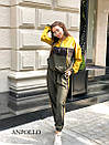 Спортивный женский комбинезон со свободным верхом и капюшоном 17spt678, фото 5