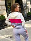 Спортивный женский комбинезон со свободным верхом и капюшоном 17spt678, фото 8