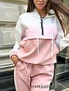Спортивный женский комбинезон со свободным верхом и капюшоном 17spt678, фото 9